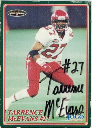 After playing football for Southfield High School and Western Michigan University, Tarrence McEvans went on to play cornerback for Calgary in the Canadian Football League.