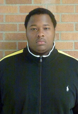 Senior and shot put thrower Calvin Graves likes to compete with fellow senior Javon Gaddy in shot put throwing.